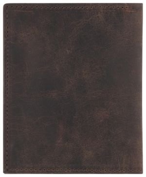 HEMA Leren Portemonnee 8.2x10 Bruin