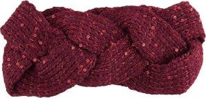 Juleeze Hoofdband Vrouwen JZHE0007BU 10*23 cm - Rood Polyester Haarband DamesHoofdband WinterHeadband