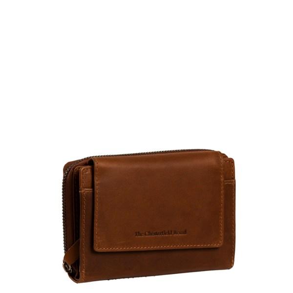 Chesterfield Ascot RFID Portemonnee Cognac