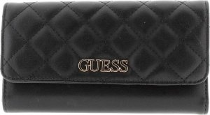 Guess Illy portemonnee zwart, ,ST