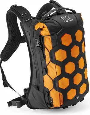 Kriega Trail18 waterdichte adventure motor rugzak oranje