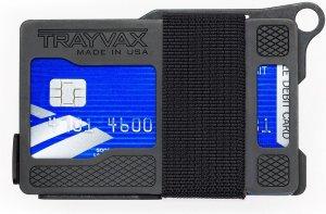 Trayvax Armored Summit - Shadow Black - Pasjeshouder Creditcardhouder Metaal RFID - zwart