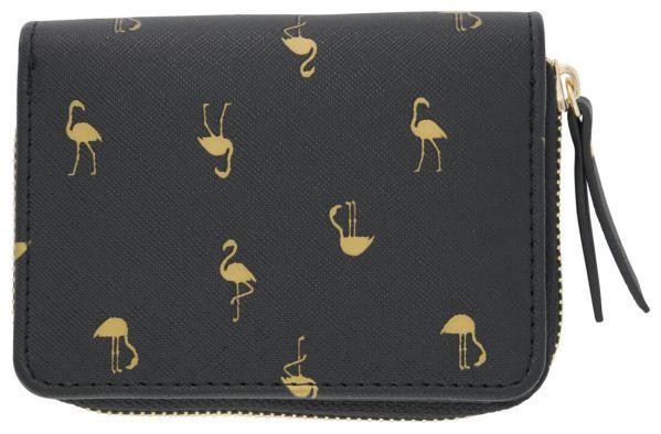 Portemonnee 9x12 Flamingo