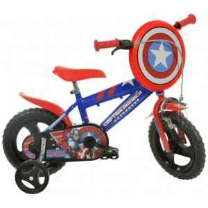 412UL-CA Captain America 12 Inch 21 cm Jongens Knijprem Blauw