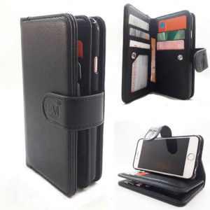 Apple iPhone 7 Plus/8 Plus - Antique Black - Pasjeshouder -