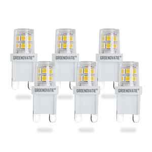 Groenovatie G9 LED Lamp 2W Extra Klein Warm Wit 6-Pack