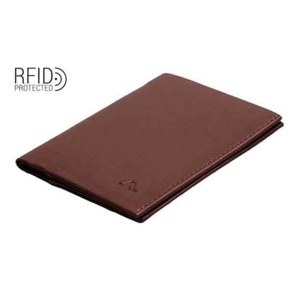 Roik - Rfid Avenue Wallet - Unisex - Brown