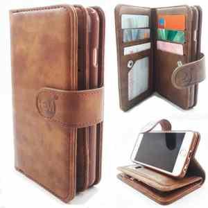 Samsung Note 8 - Bronzed Brown - Pasjeshouder - Telefoonhoesje met