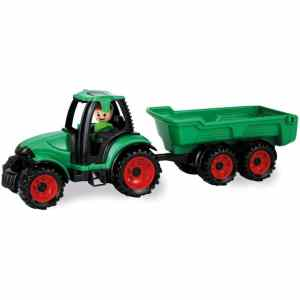 Truckies tractor jongens 36,5 x 10,5 cm groen/rood