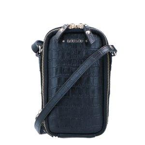 LouLou Essentiels Classy Croc Mobilebag Black