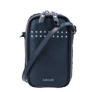 LouLou Essentiels Stud Mobilebag Black