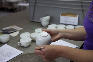 Fabrication porcelaine