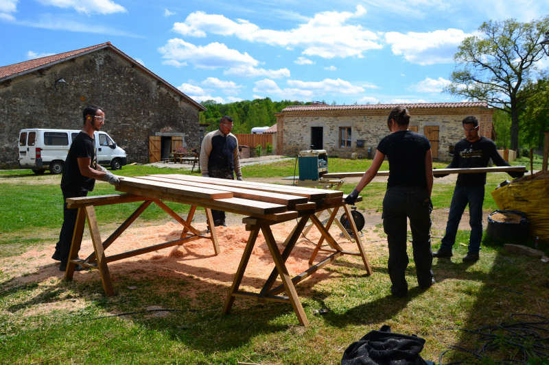 Chantier Insertion ile de Chaillac