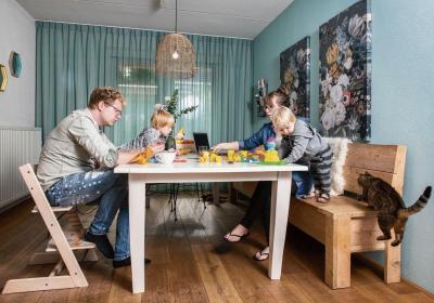 nrc, gezin, indeling, werkweek, stress, porterenee, sparen, besparen, goedkoper wonen, hypotheek