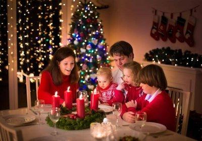 besparen kerstdinner
