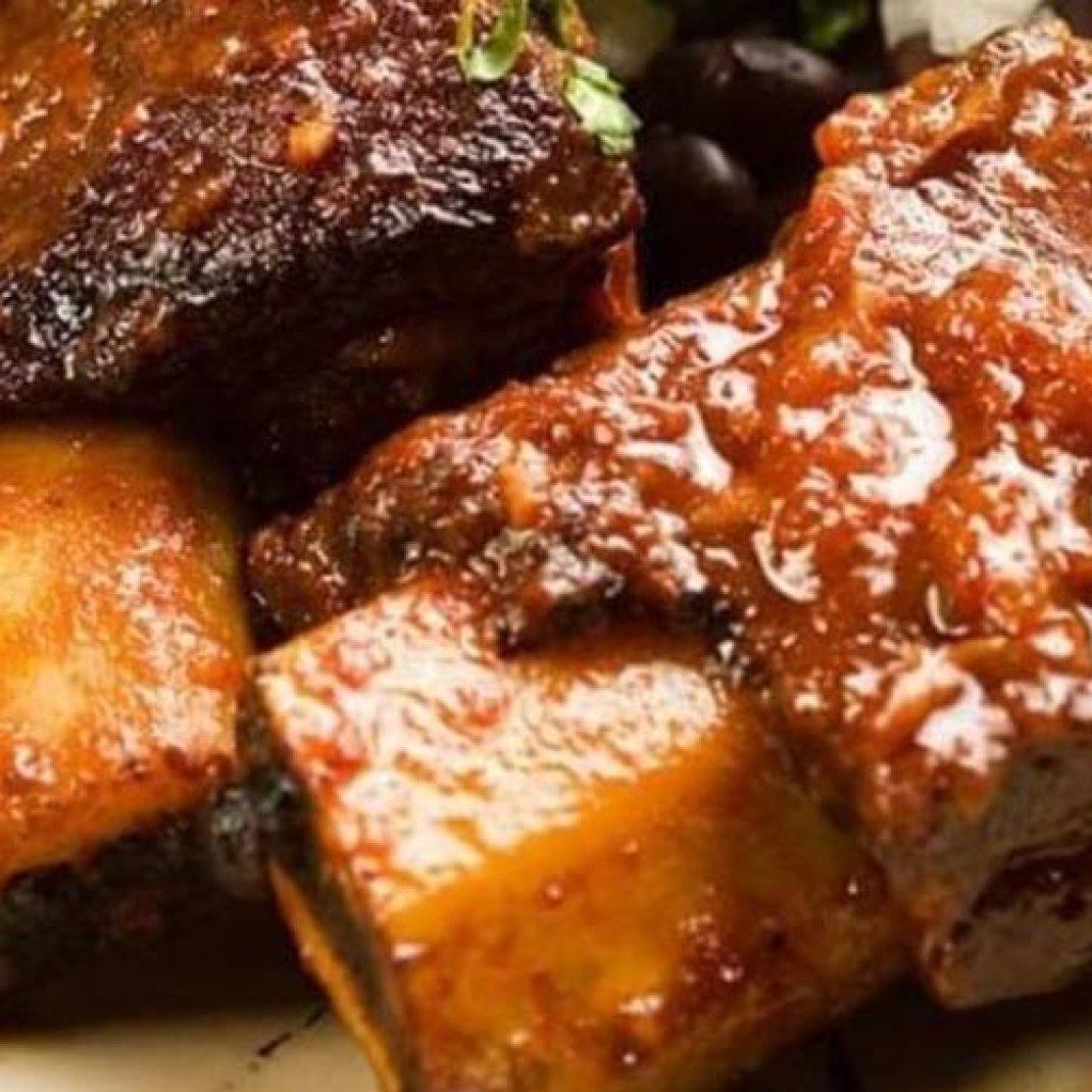 Porterhouse Bourbon and Molasses Short Ribs Recipe