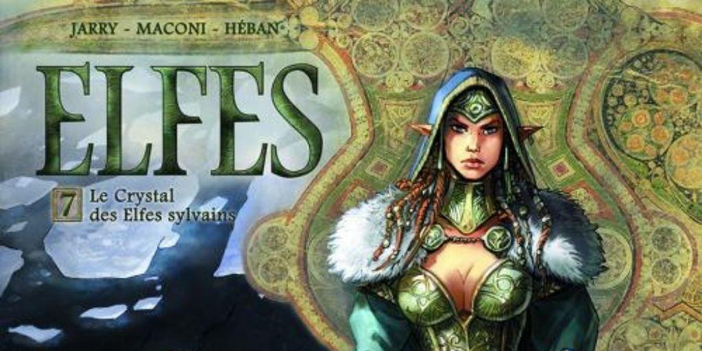 Elfes tome 07, Le Crystal des Elfes Sylvains – Nicolas Jarry et Gianluca Maconi