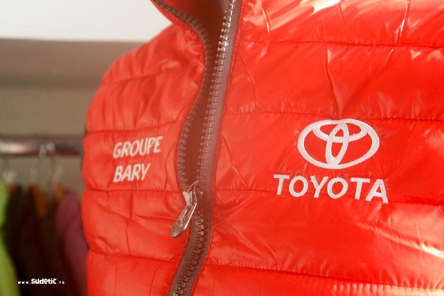 Par Toyota Doudounes Sudetic Broderie Portfolio 5BxnYwHHX
