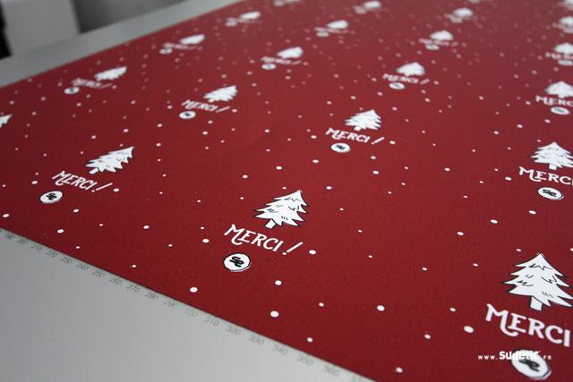 Impressions cartes cadeaux SUDETIC