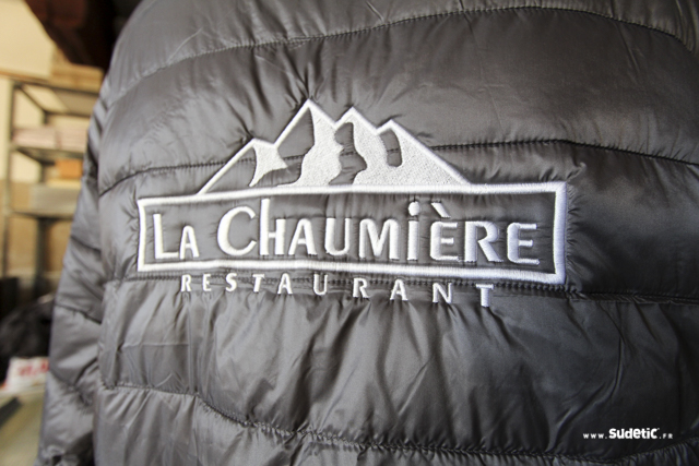 Doudounes et polos La Chaumière Val Thorens par SUDETIC