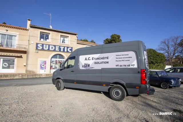 Décoration VW Crafter AC Etanchéité par SUDETIC