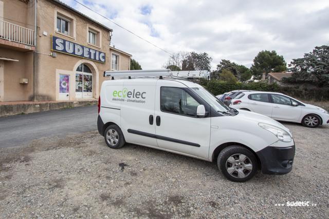 Déco Fiat Doblo Eco Elec par SUDETIC