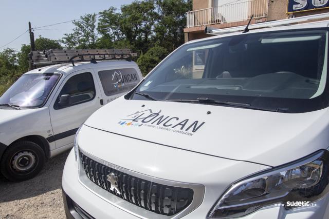 Décoration Peugeot Expert Loncan par Sudetic