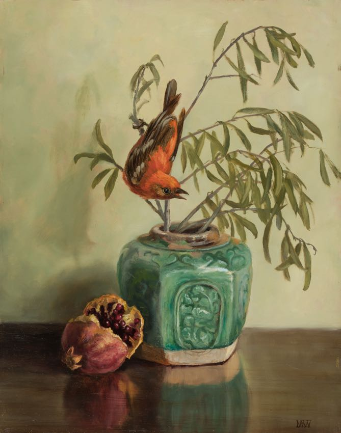 Olives with Tanager