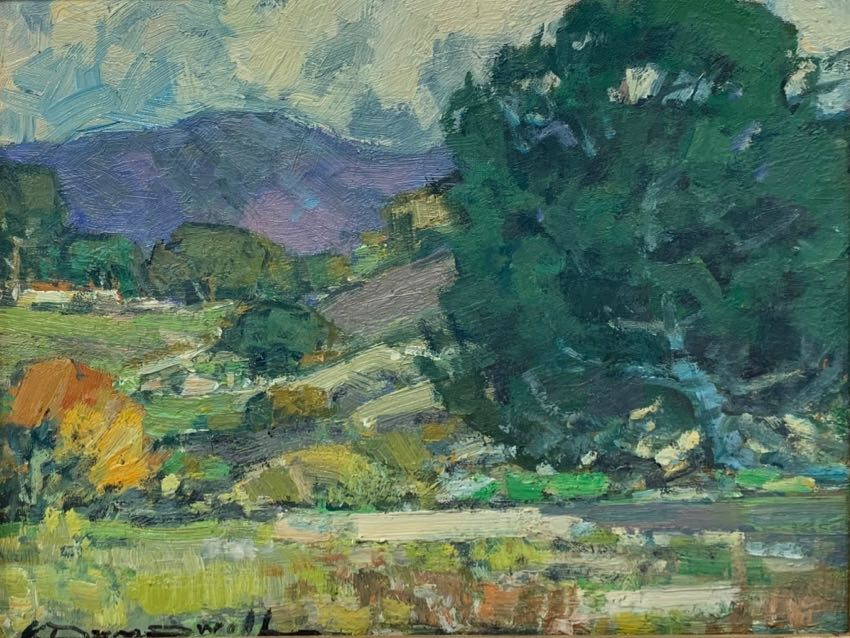 California Live Oak Karl Dempwolf 11x14 oil