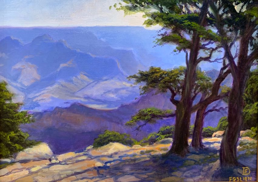 Grand Canyon Dirk Foslien 6x8 oil