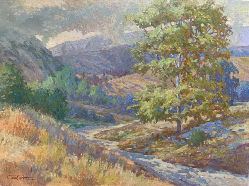 Flintridge Canyon Matthias Fischer 18x24 oil