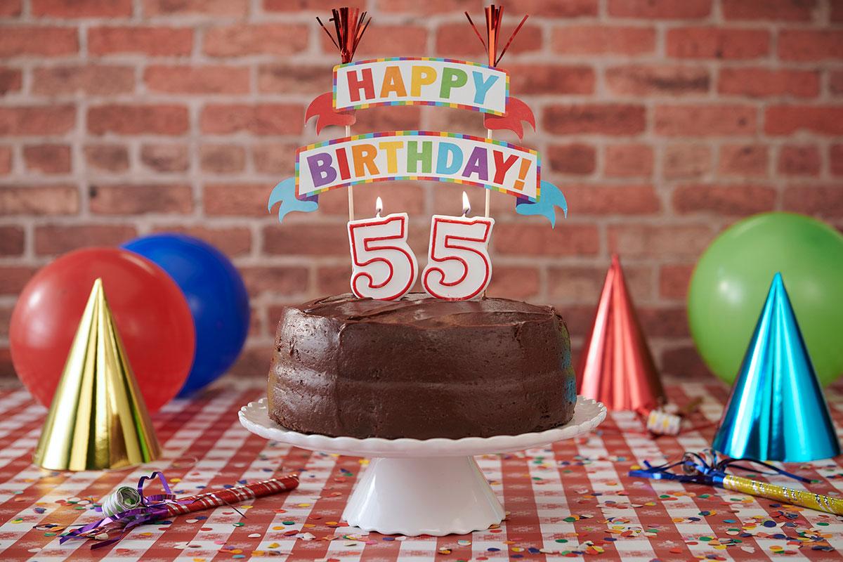 55th Birthday Decorations