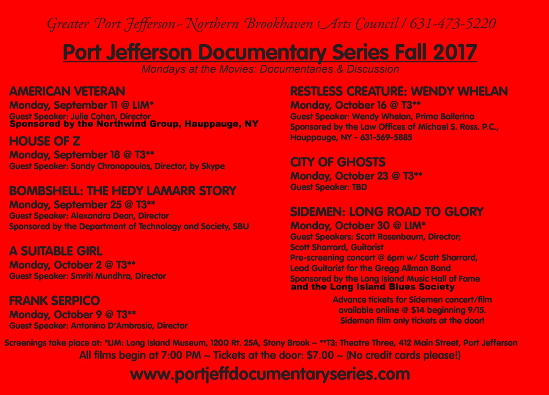 Fall 2017 Red Card port jeff documentary series