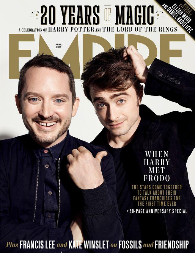 Harry Potter Empire Daniel Radcliffe