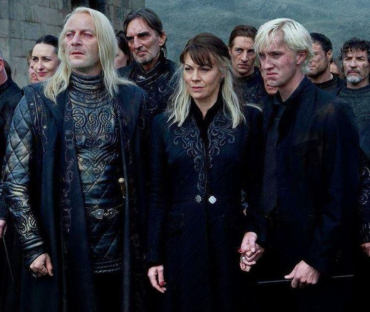 Harry Potter Helen McCrory Tom Felton