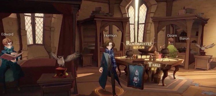 Harry Potter Magic Awakened dormitorio