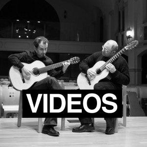 Navigation image for videos portfolio for the Portland Guitar Duo