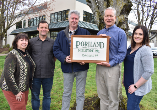 Portland Millwork office team.