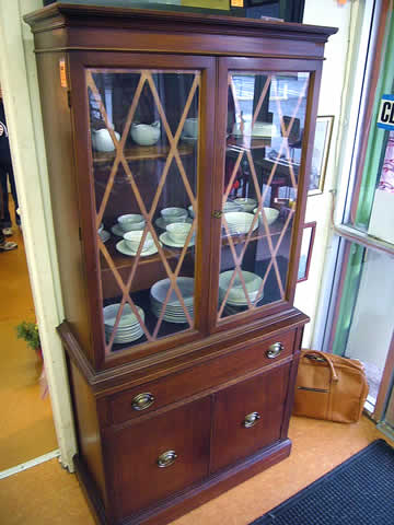 Antique Hutch: Rerun resale funiture.