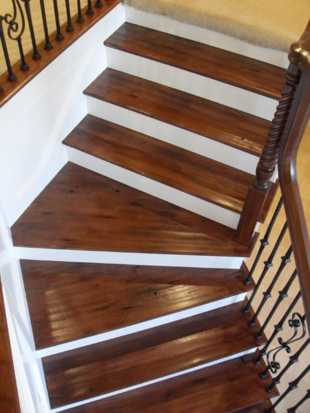 Image Result For How To Refinish Stairs That Were Carpeted