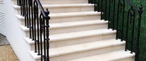 Portland Stone Steps