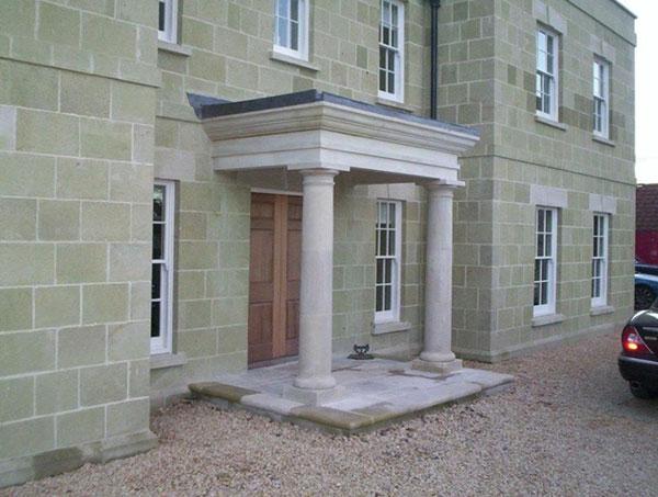 Stone Porticos