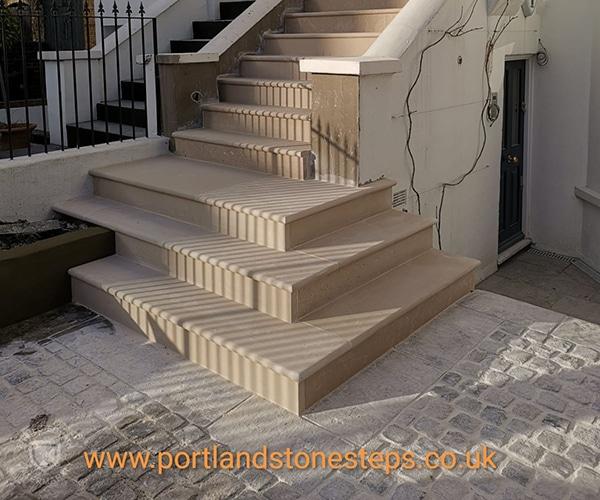 Portland Stone Steps Jan 1901