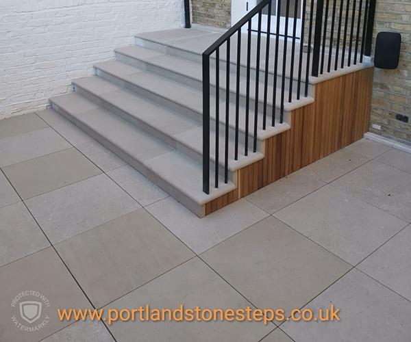 Portland Stone Steps Jan 1905