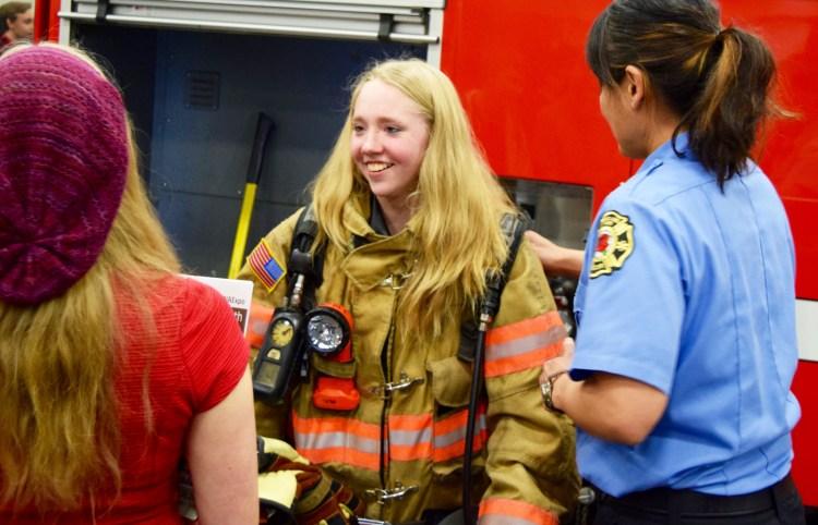 NW Youth Careers Expo: Portland Fire Bureau
