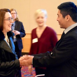 PWA Breakfast: Photo highlights of speakers, students
