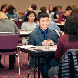 Volunteer opportunity, Oct. 19: Help high school students shine in their first job interview