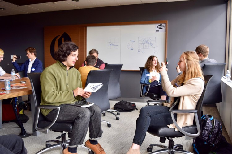 The Oregonian Career Day, Oct. 2017