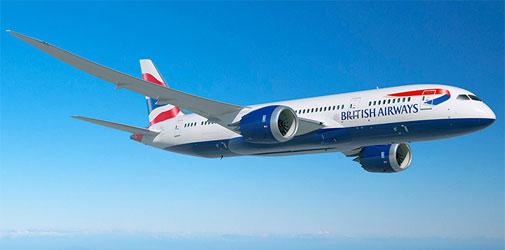 British Airways route Porto