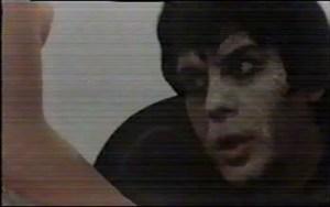 Carmelo Bene in una scena del film Un Amleto di meno